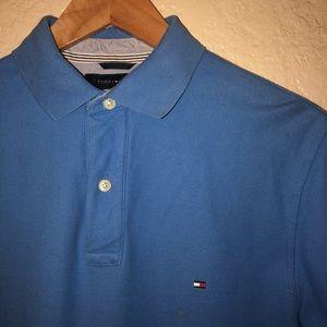 Light Blue Tommy Hilfiger Polo Shirt